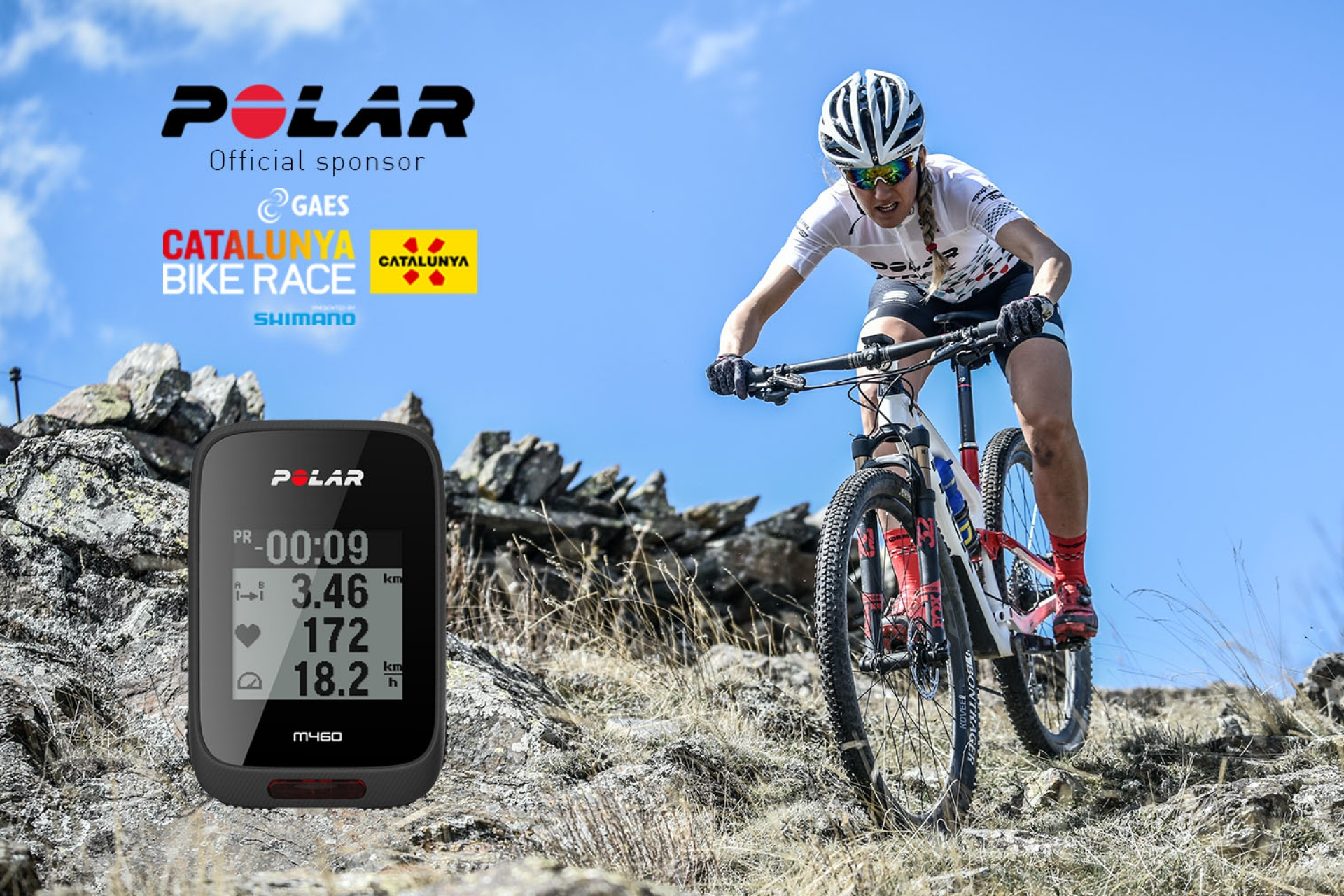 Polar porta moltes sorpreses a GAES Catalunya Bike Race presented by Shimano
