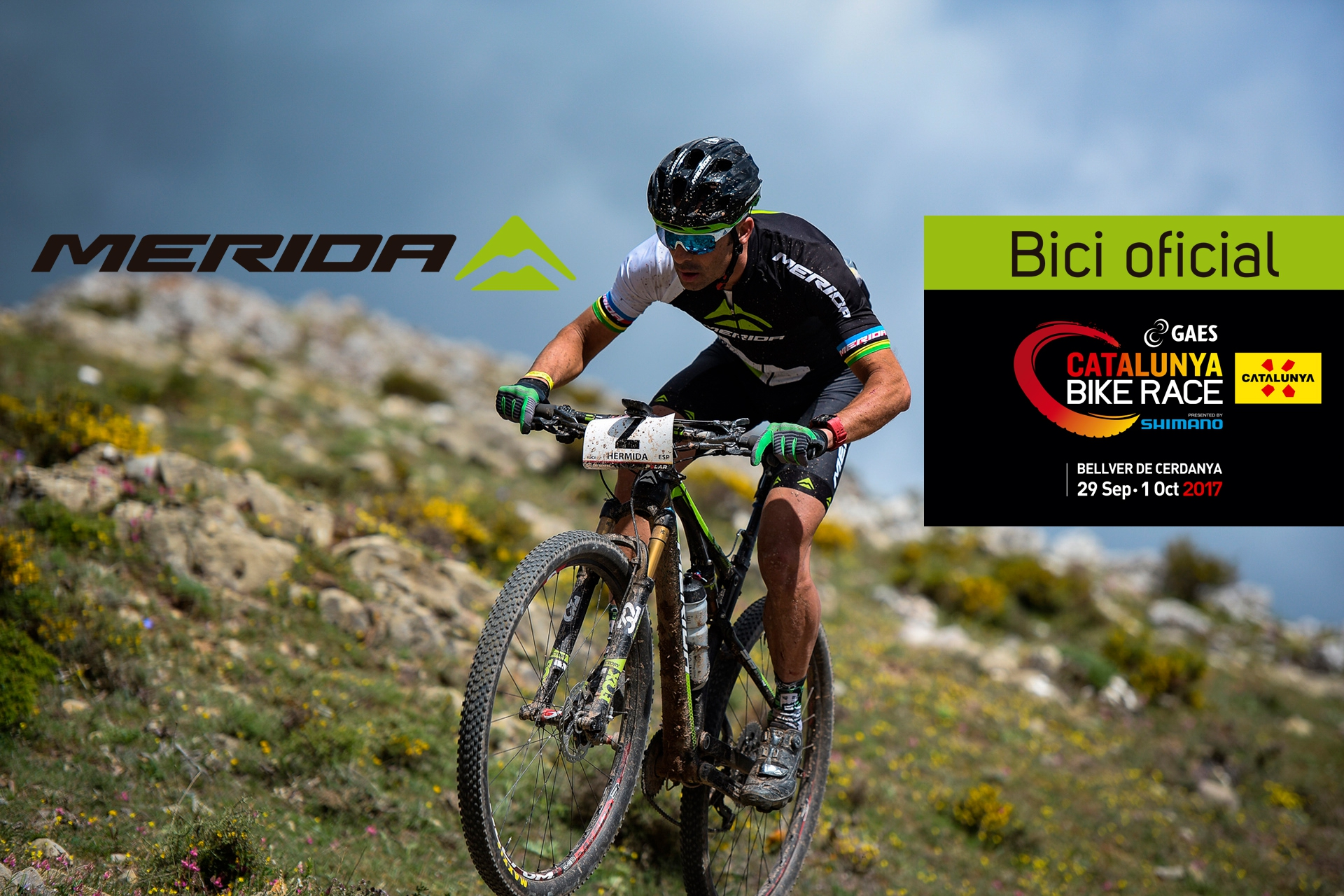 Merida Bikes, bicicleta oficial de GAES Catalunya Bike Race presented by Shimano