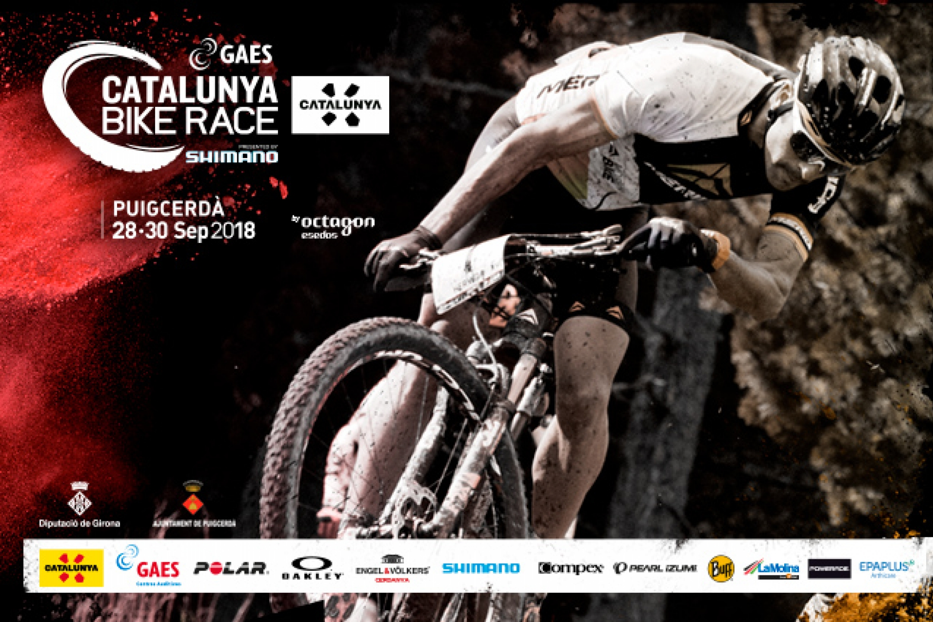 Inscriu-te a GAES Catalunya Bike Race presented by Shimano!