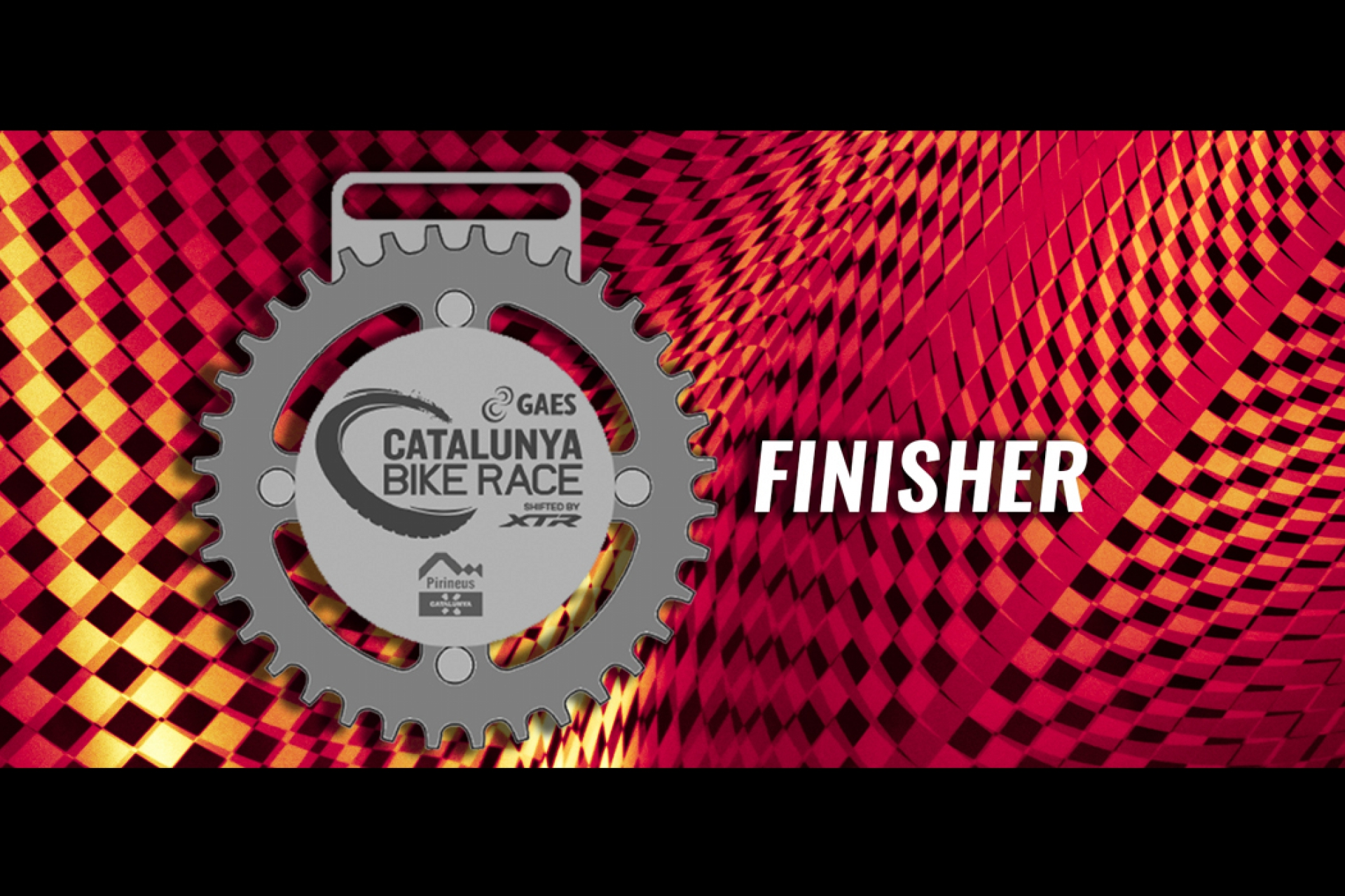 Penja't la medalla de Finisher!
