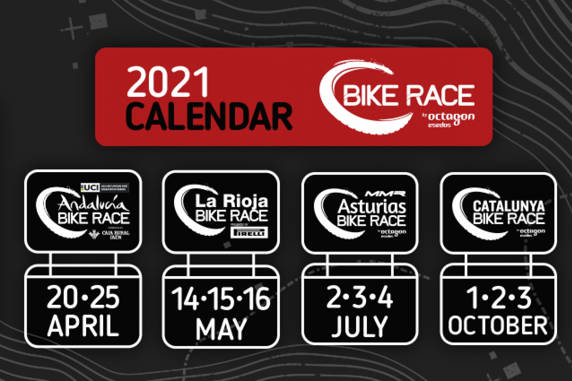 Presentem el calendario Bike Race by Octagon Esedos per al 2021
